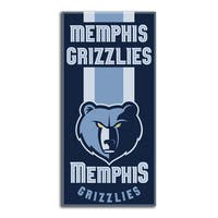 NBA 620 Grizzlies Zone Read Beach Towel
