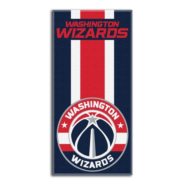 NBA 620 Wizards Zone Read Beach Towel