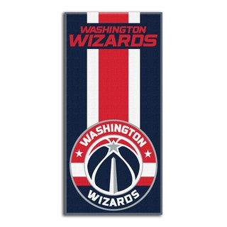 NBA 620 Wizards Zone Read Beach Towel