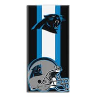 NFL 720 Panthers Zone Read Beach Towel