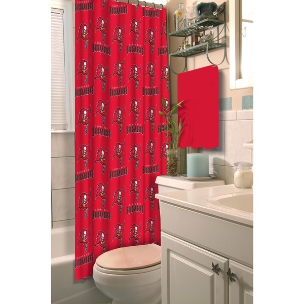 NFL 903 Buccs Shower Curtain