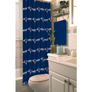NFL 903 Patriots Shower Curtain