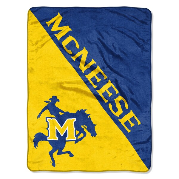 COL 659 McNeese State Halftone Micro Throw