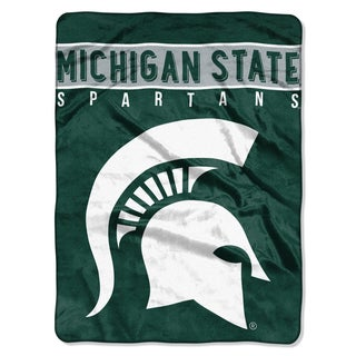 COL 803 Michigan State Basic Raschel Throw