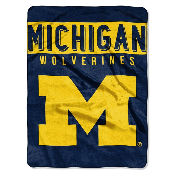 COL 803 Michigan Basic Raschel Throw