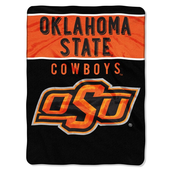 COL 803 Oklahoma State Basic Raschel Throw