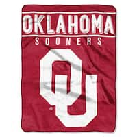 COL 803 Oklahoma Basic Raschel Throw