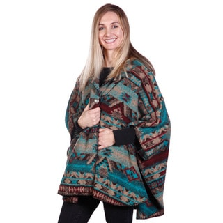 Mazmania Women's San Marco Looped Wool Cape