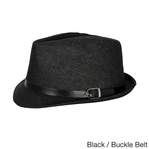 a49d65e9 Buy Black Men's Hats Online at Overstock | Our Best Hats Deals