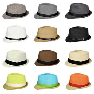 Cuban Style Unisex Fedora Short Brim Hat|https://ak1.ostkcdn.com/images/products/15299184/P21766735.jpg?_ostk_perf_=percv&impolicy=medium