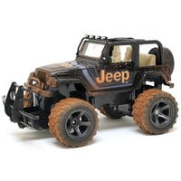 New Bright 1:15 R/C Mud Slinger Jeep Wrangler