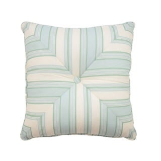 Waverly Astrid Square Button-Tufted Decorative Throw Pillow