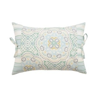 Waverly Astrid Pieced Decorative Throw Pillow.