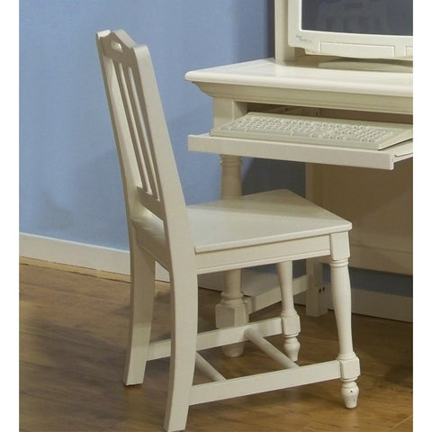 Greyson Living White Wood Beachcrest Desk Chair