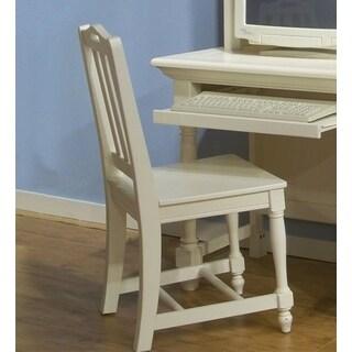 Greyson Living White Wood Beachcrest Desk Chair