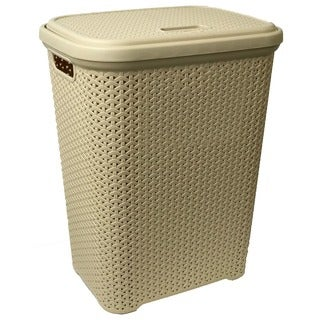 Rattan Laundry Hamper (55 Liters)