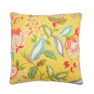 Waverly Modern Poetic Reversible Decorative Throw Pillow.
