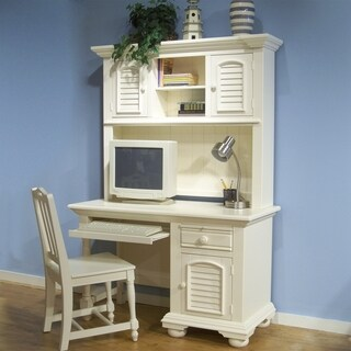 Greyson Living Beachcrest Eggshell White Wood 3-piece Desk Set