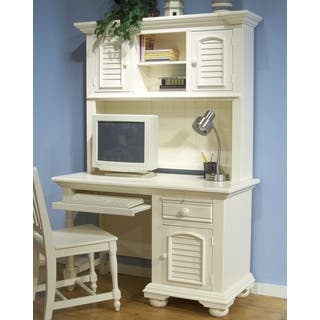 Greyson Living Beachcrest Computer Desk and Hutch|https://ak1.ostkcdn.com/images/products/15299309/P21766775.jpg?impolicy=medium