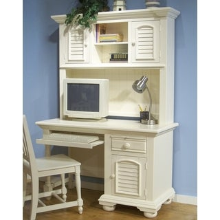 Greyson Living Beachcrest Computer Desk and Hutch