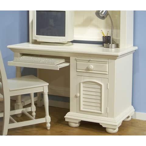 Greyson Living Beachcrest White Wood Computer Desk