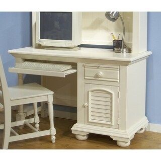 Greyson Living Beachcrest White Wood Computer Desk