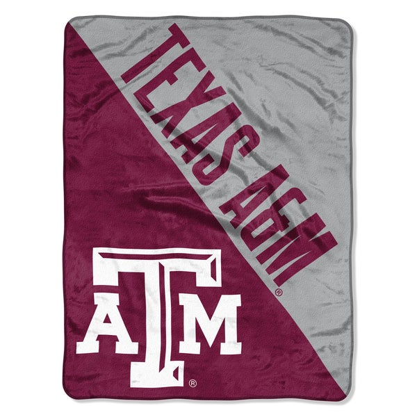 COL 059 Texas A&M Halftone Micro Throw