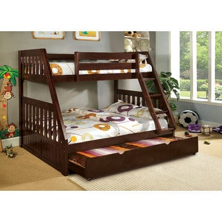 Balan Twin over Full Bunk Bed with Trundle