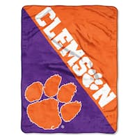 COL 059 Clemson Halftone Micro Throw