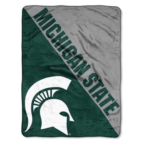 COL 059 Michigan State Halftone Micro Throw