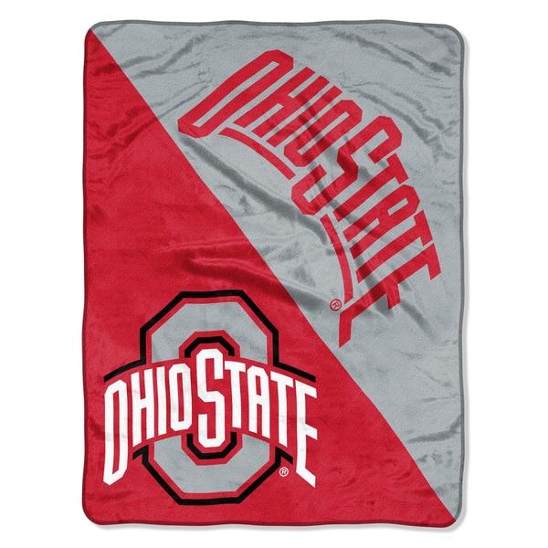COL 059 Ohio State Halftone Micro Throw