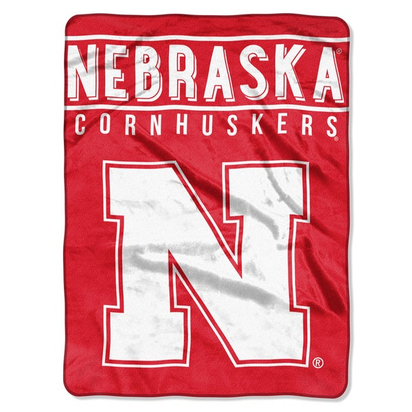 COL 803 Nebraska Basic Raschel Throw