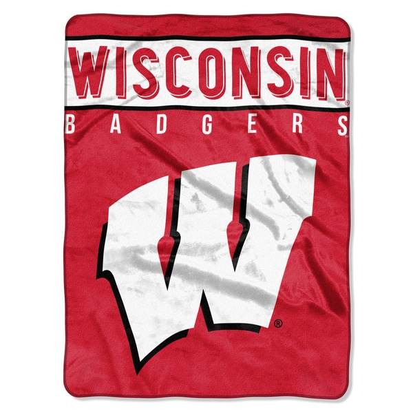 COL 803 Wisconsin Basic Raschel Throw