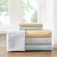 Carson Carrington Verdalsora Triangle Microfiber Printed Sheet Set