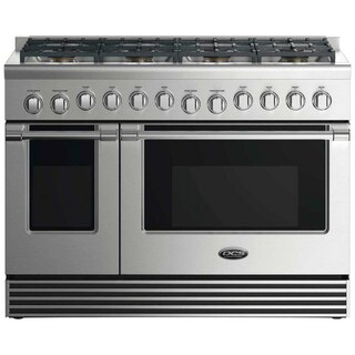 "DCS 48"" Gas Range: 8 Burners"