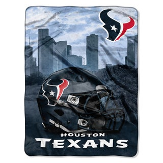NFL 071 Texans Heritage Silk Touch Throw