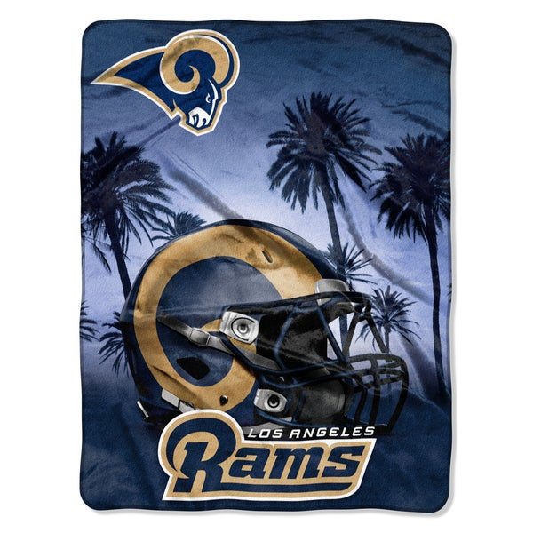 NFL 071 Rams Heritage Silk Touch Throw