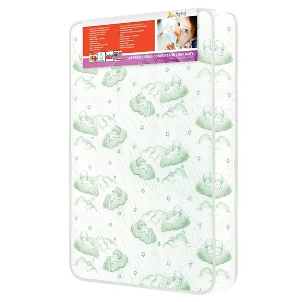 Evenflo Baby Suite Selection 300 3-inch Inner Spring Mattress with Square Corner 25430850