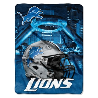 NFL 071 Lions Heritage Silk Touch Throw