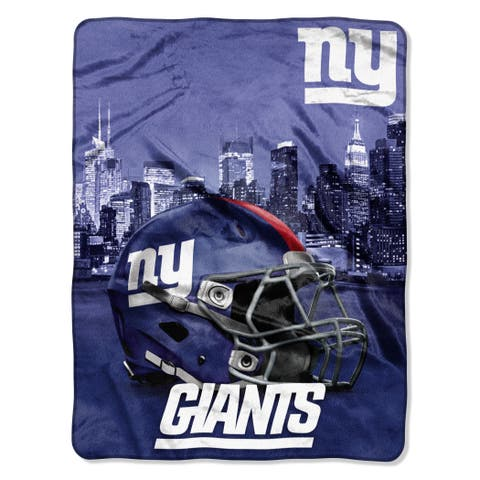 NFL 071 NY Giants Heritage Silk Touch Throw