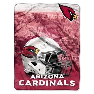 NFL 071 Cardinals Heritage Silk Touch Throw