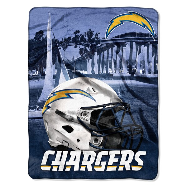 NFL 071 Chargers Heritage Silk Touch Throw