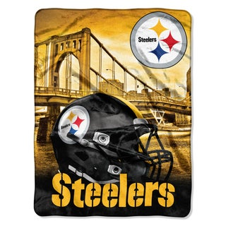NFL 071 Steelers Heritage Silk Touch Throw