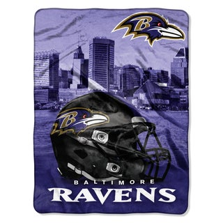 NFL 071 Ravens Heritage Silk Touch Throw