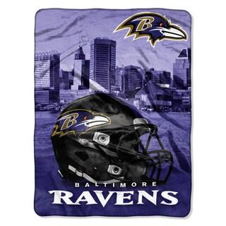 NFL 071 Ravens Heritage Silk Touch Throw