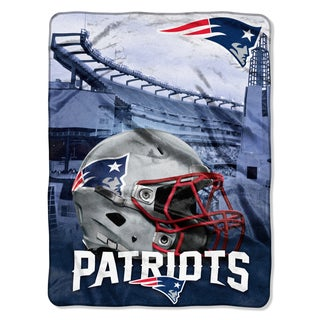 NFL 071 Patriots Heritage Silk Touch Throw