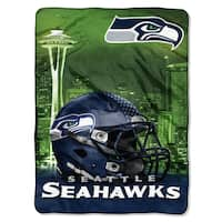 NFL 071 Seahawks Heritage Silk Touch Throw