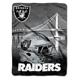 NFL 071 Raiders Heritage Silk Touch Throw