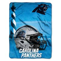 NFL 071 Panthers Heritage Silk Touch Throw