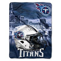 NFL 071 Titans Heritage Silk Touch Throw